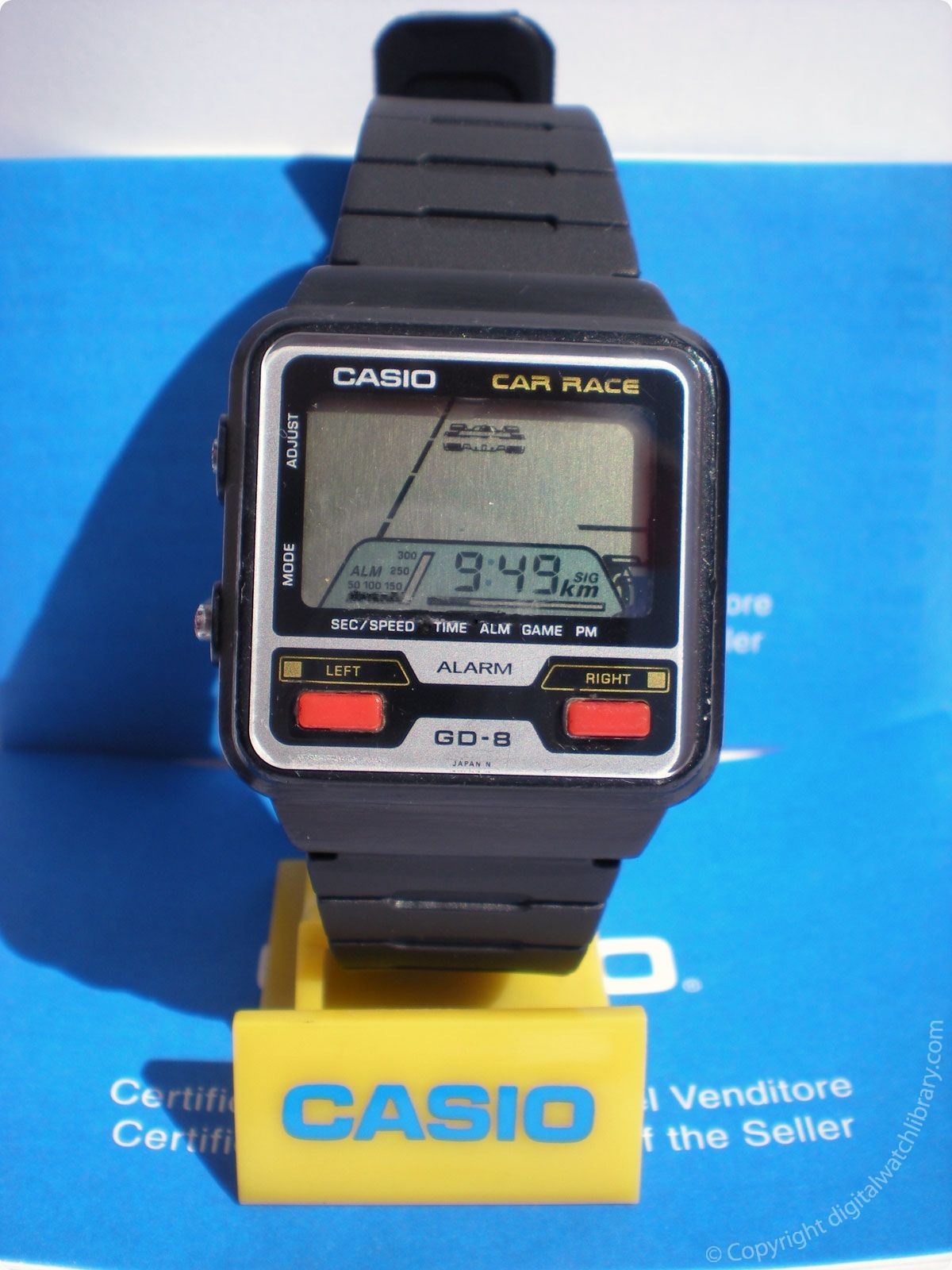 CASIO - GD-8 - Car Race  e1fb160fd8