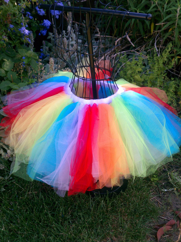 2d46656bbb Adult Tutu, Pride tutu, rainbow tutu. $40.00, via Etsy. For color run??
