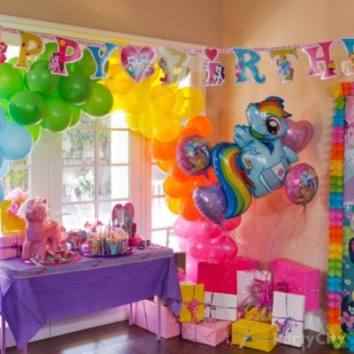 My Little Pony Party Ideas Guide Party City Pony Birthday