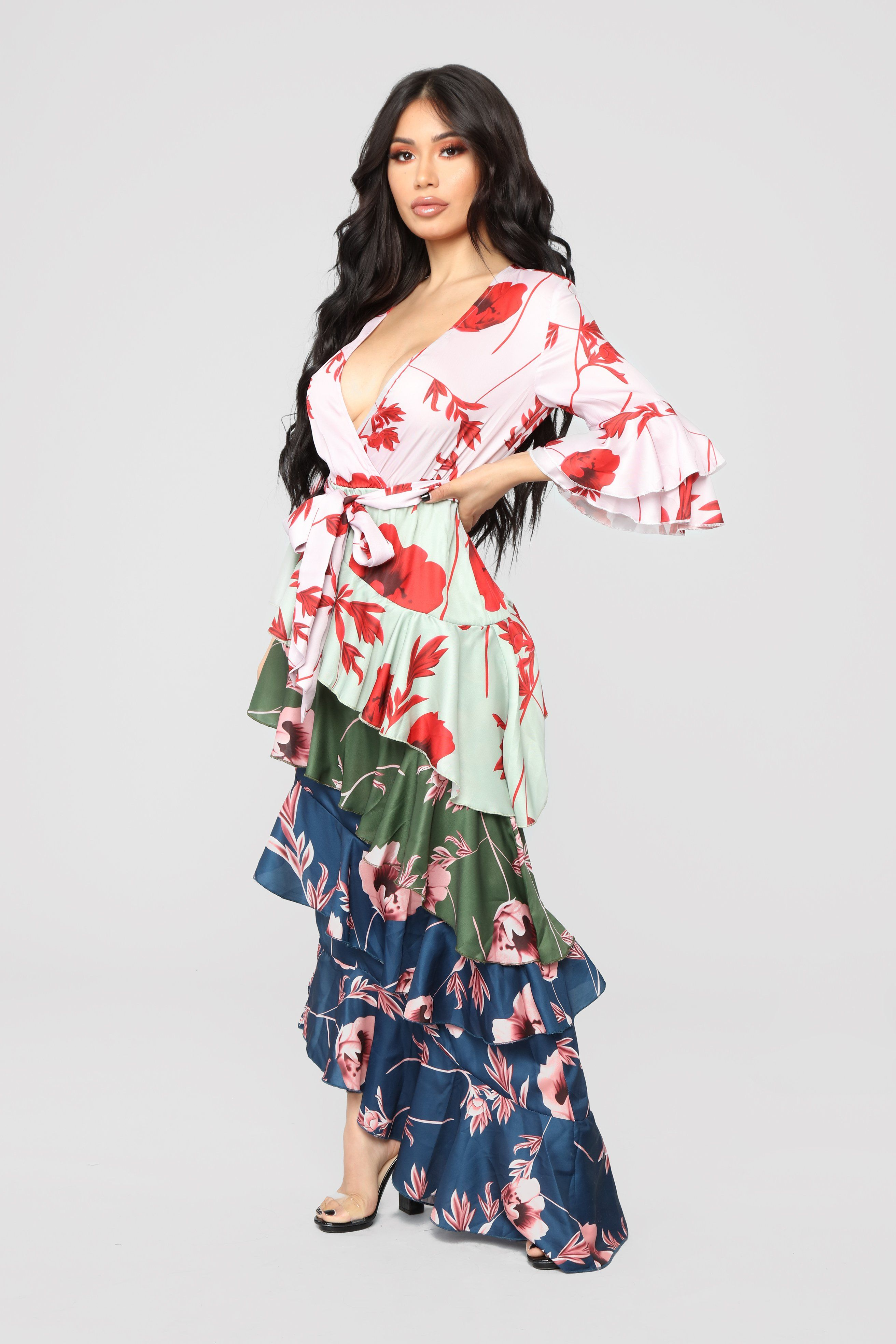 279d5a08ae Only Top Tier Chiffon Maxi Dress - Multi in 2019 | Stylin' and ...