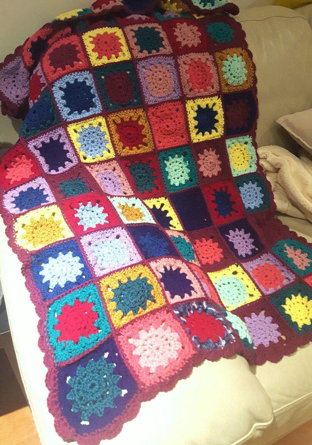 Crochet blanket | Diy | Pinterest