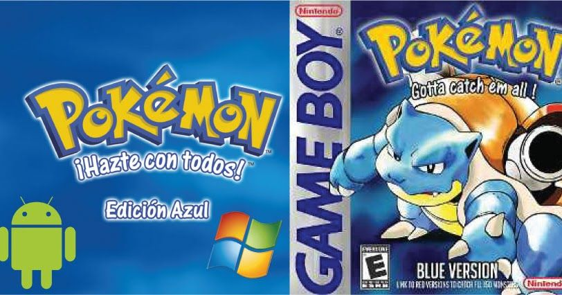 Descargar Pokemon Azul Rom Pokemon Azul Pokemon Juegos De Pokemon