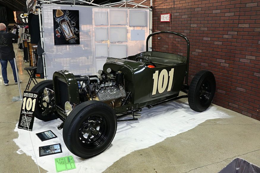 Retro Hot Rods and Classic Cars at the Suede Palace: Grand National Roadster Sho…