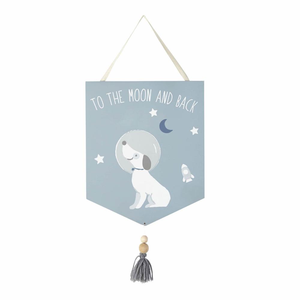 Maisons Du Monde Banderín To The Moon And Back Kid Room Decor Maisons Du Monde Kids Room