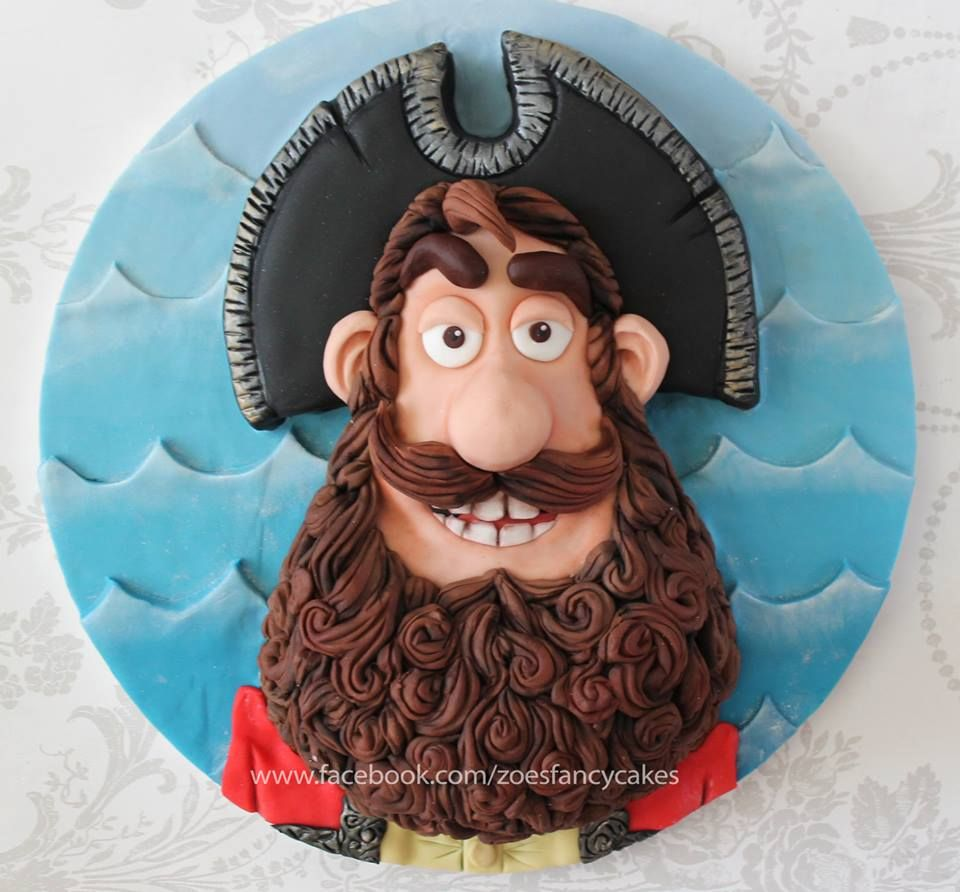 Cake ideas on pinterest pirate cakes marshmallow fondant and - Pirate Captain Cake How To Make The Pirate Captain As A Cake