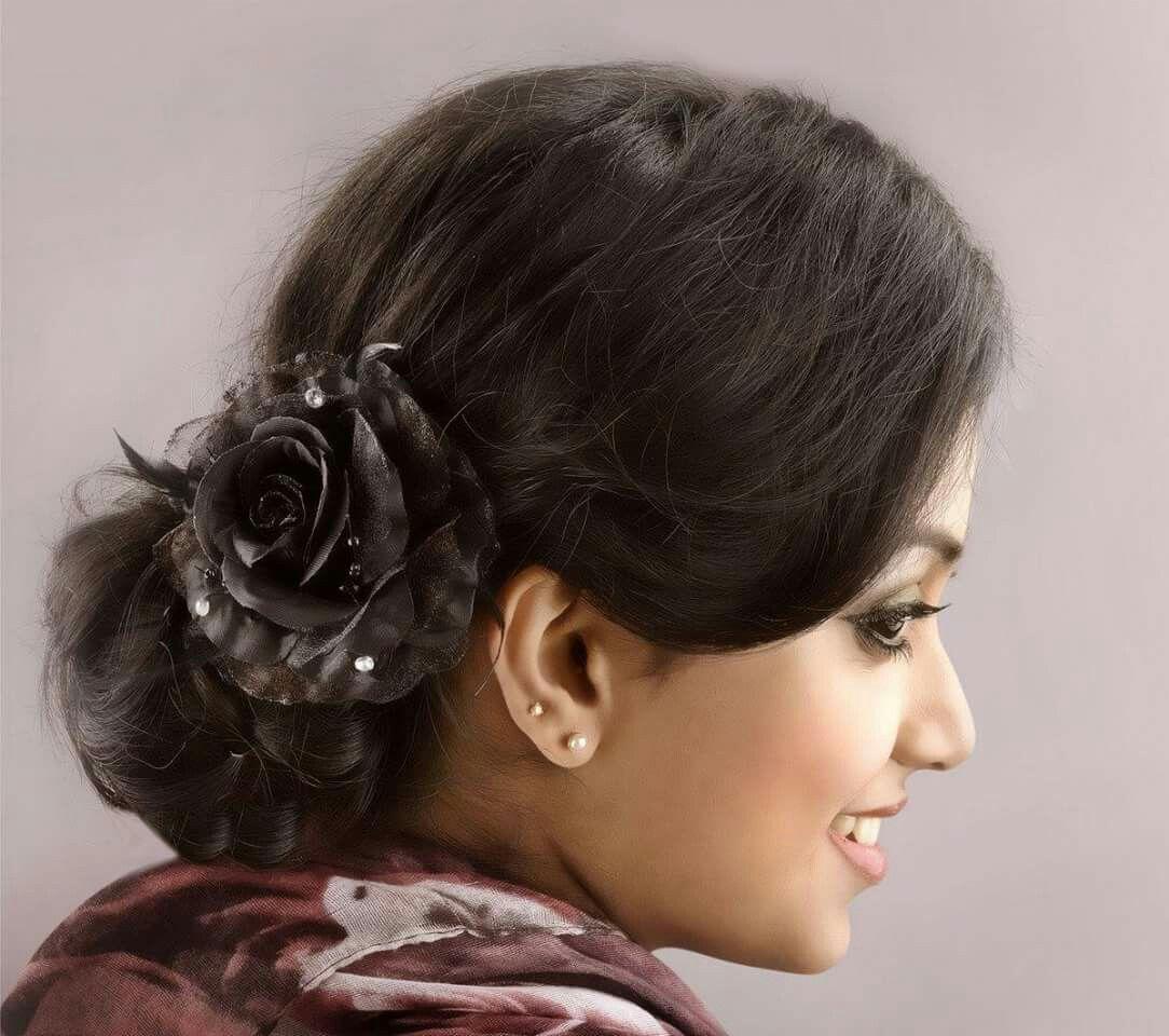 Wedding Hairstyle Kerala: #wedding Hairstyle #updo #fashion #kerala Wedding