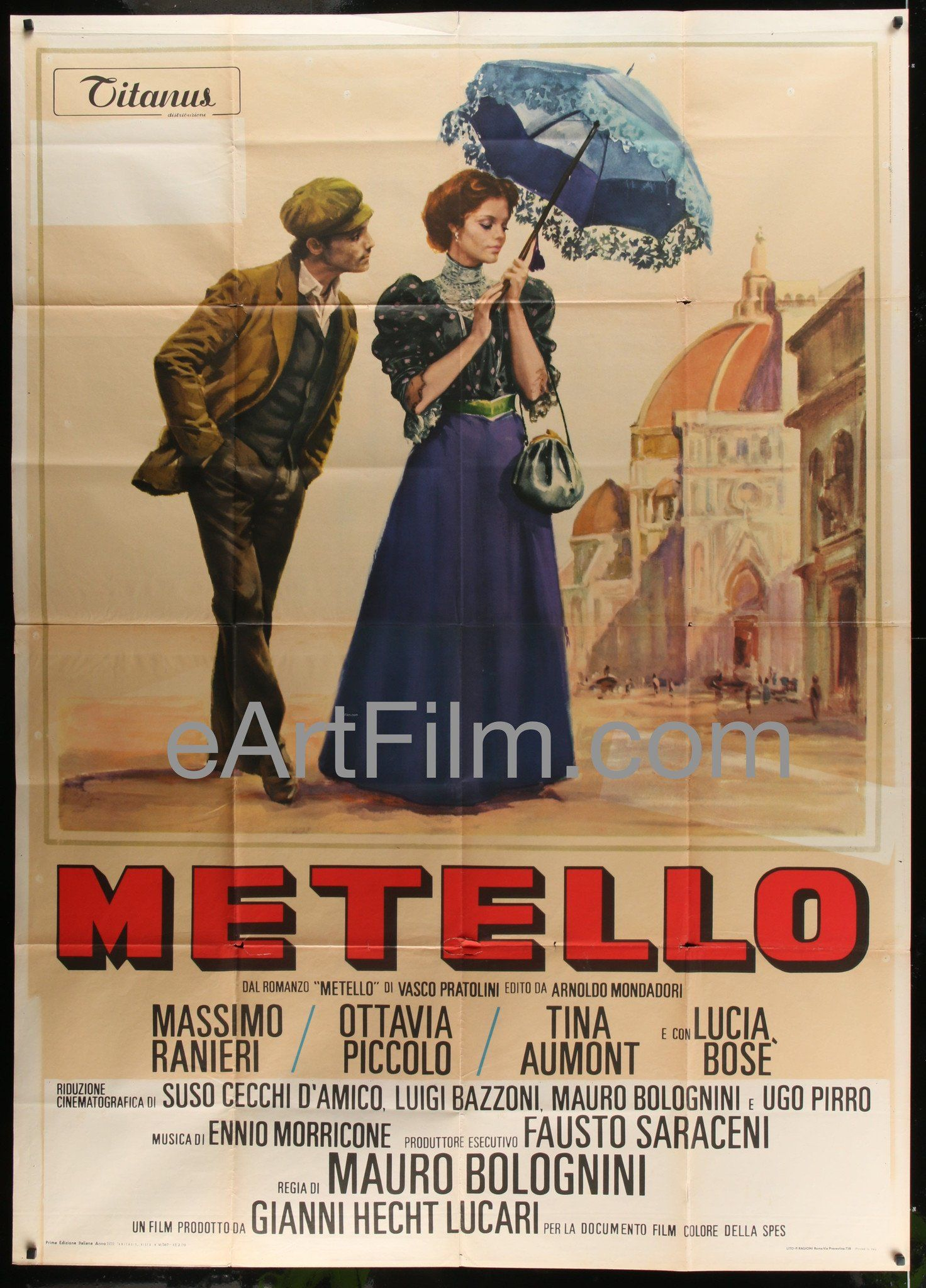 Metello 1970 55x78 Italian 2 Panel 4 Fogli Movie Poster Movie Posters Spaghetti Western French Movie Posters