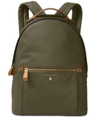 c0a55b3f1fea0 MICHAEL KORS Michael Michael Kors Kelsey Large Backpack.  michaelkors  bags   leather  lining  polyester  nylon  backpacks