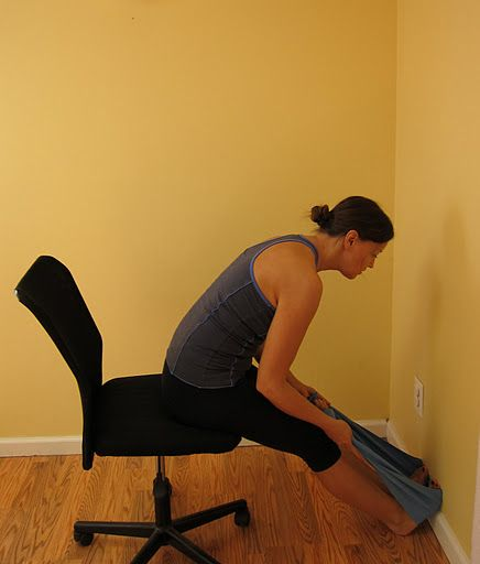 Pin By Michelle On Healthy Living Seated Hamstring Stretch Hamstring Stretch Seated