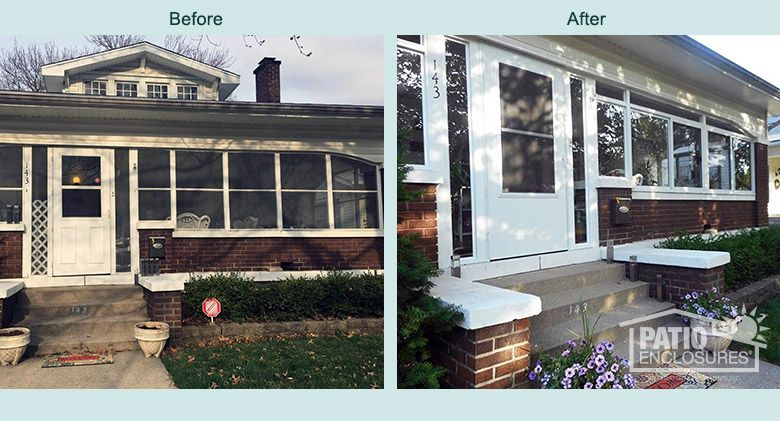 Charmant Unique Arched Openings Were No Problem For A Patio Enclosures®  Custom Manufactured Sunroom! View More Before U0026 After Pictures.