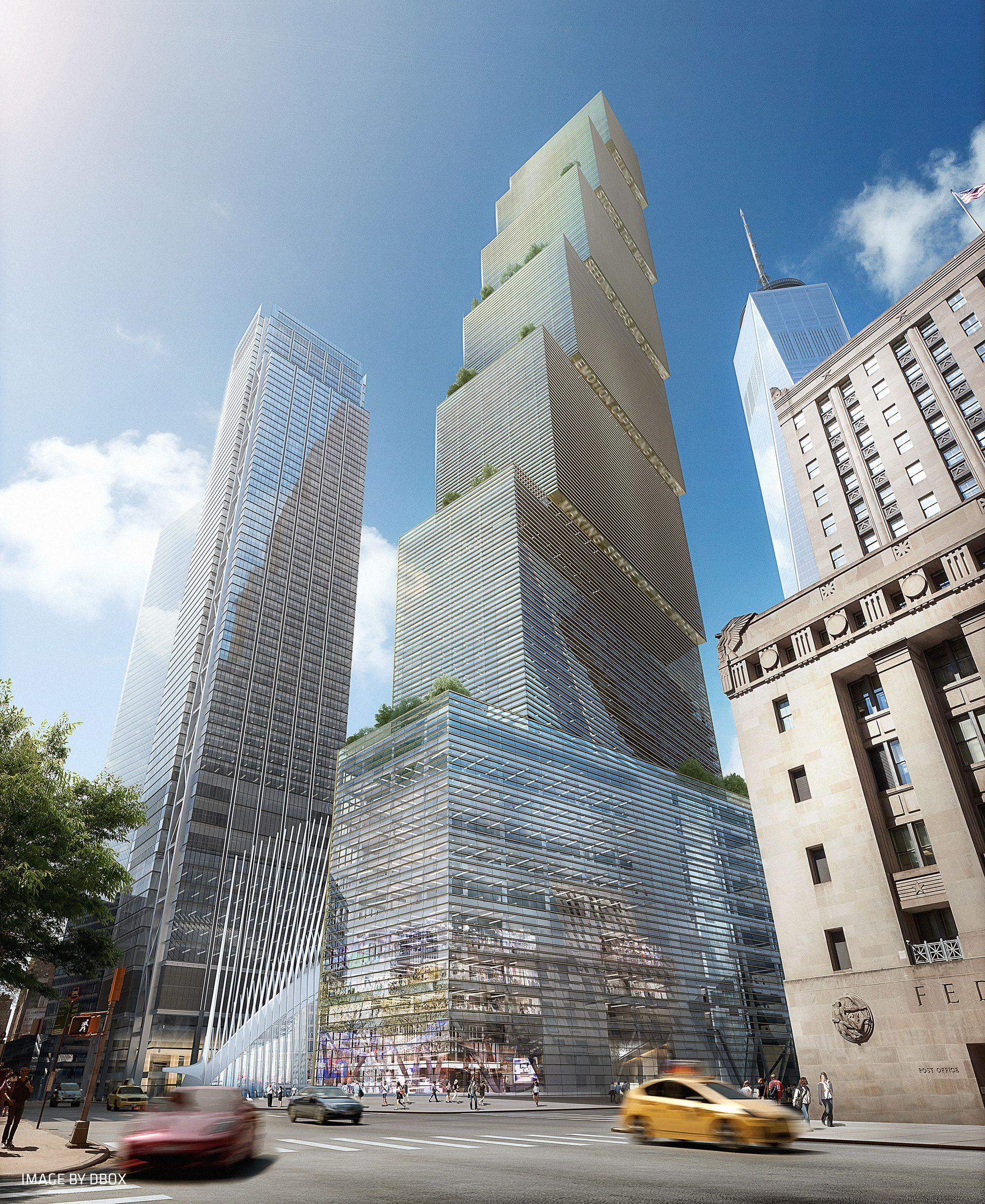 Galeria - BIG substitui Foster no projeto para o 2 World Trade Center - 21
