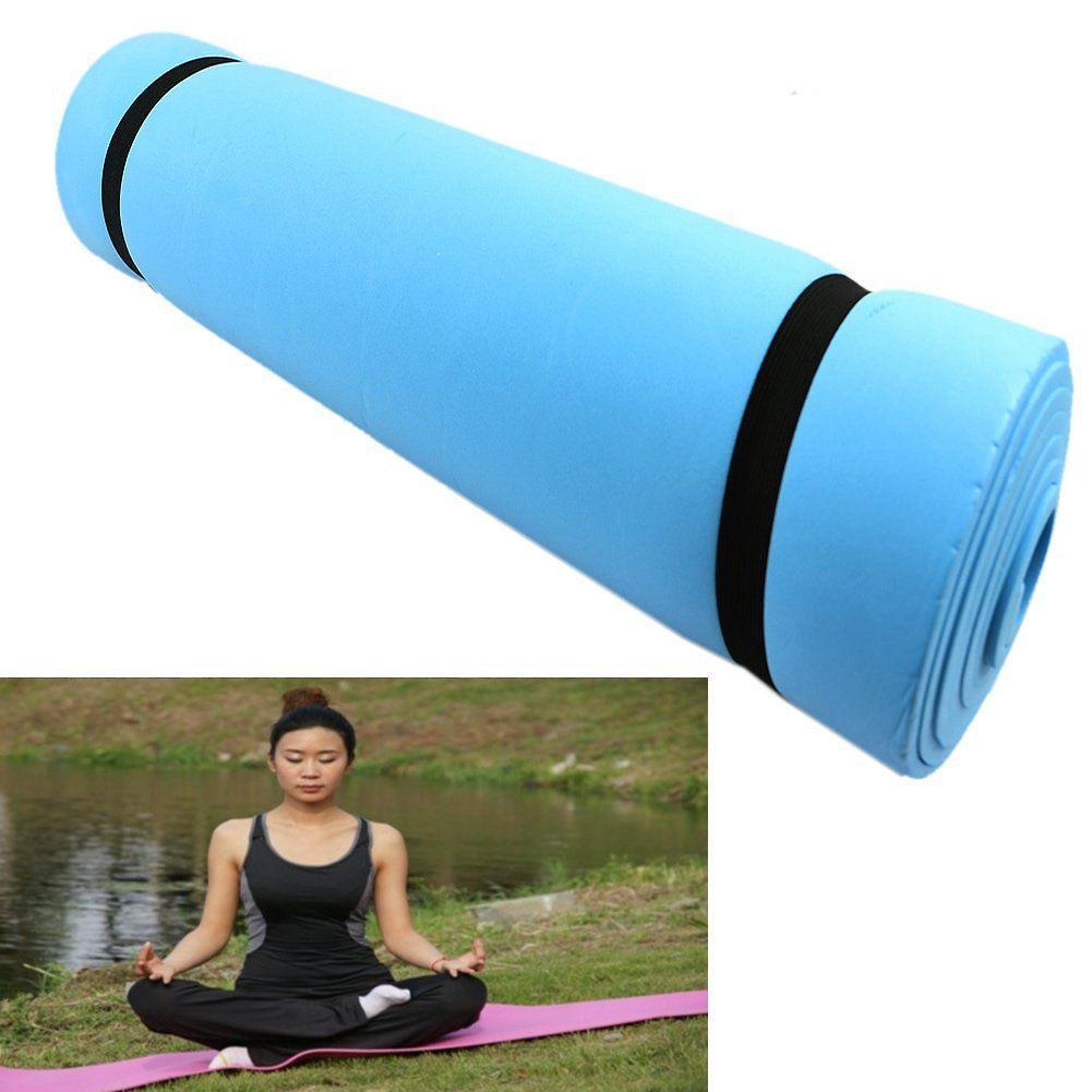 Wivily Dampproof Sleeping Mattress Yoga Mats Exercise Eva Foam Nonslip Pilates Mat For Pilates Gymaccessorieside Yoga Pad Mat Exercises Eco Friendly Yoga Mats