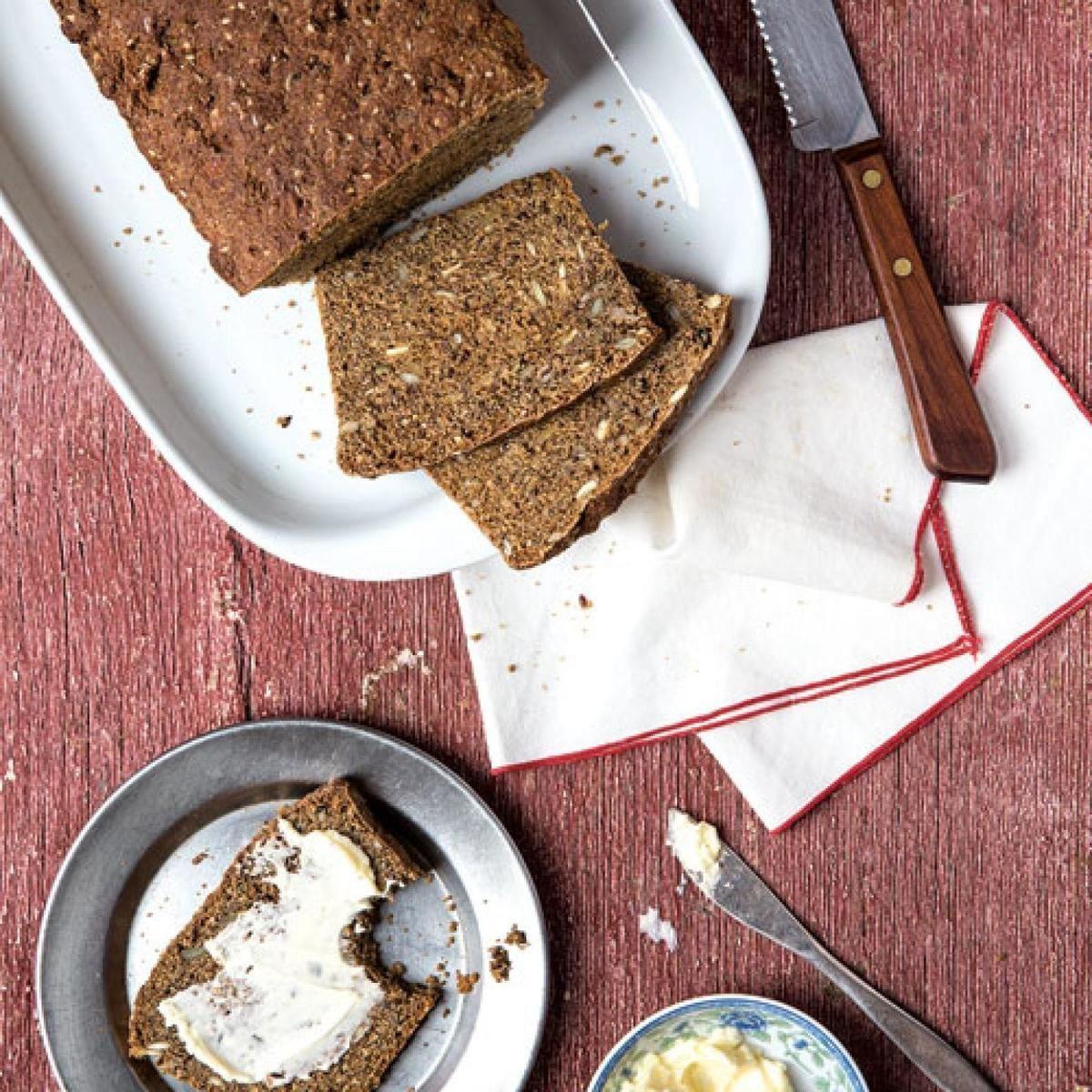Swedish Filmjolkslimpa Seeded Buttermilk Bread Recipe Buttermilk Bread Bread Food