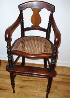 Antique High Chair Dates From Late 1700 S Or Early 1800 S