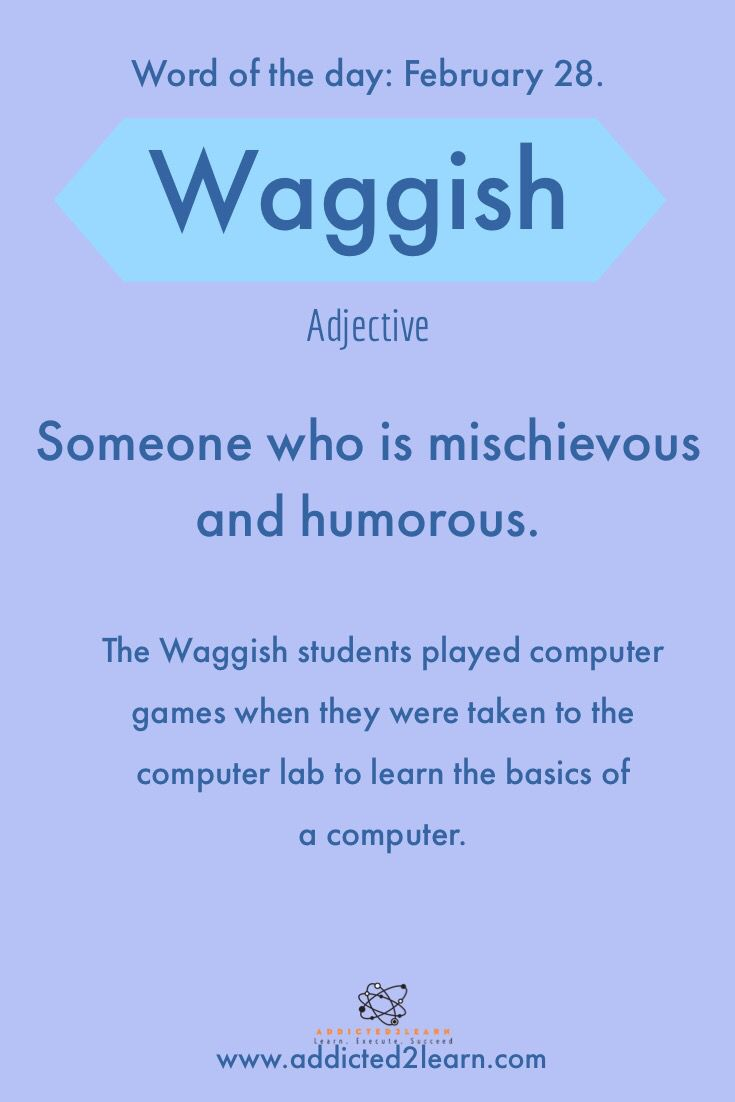 Vocabulary Words Learn A New Word Every Day With Images