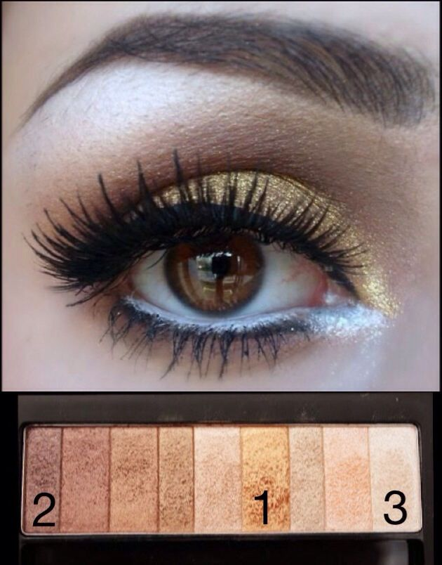 Use The Physicians Formula Shimmer Strips In Warm Nude To Recreate