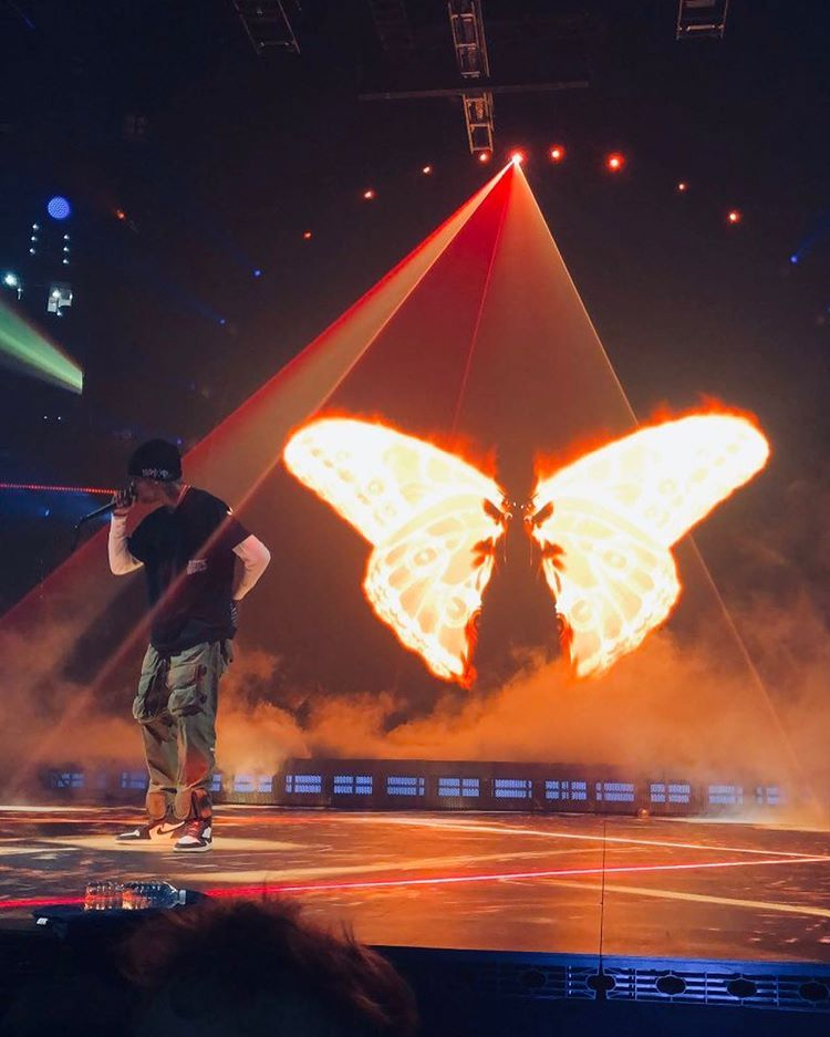 I M Hard To Catch That S The Butterfly Effect Travisscott In 2020 Cactus Jack Travis Scott Thug Life