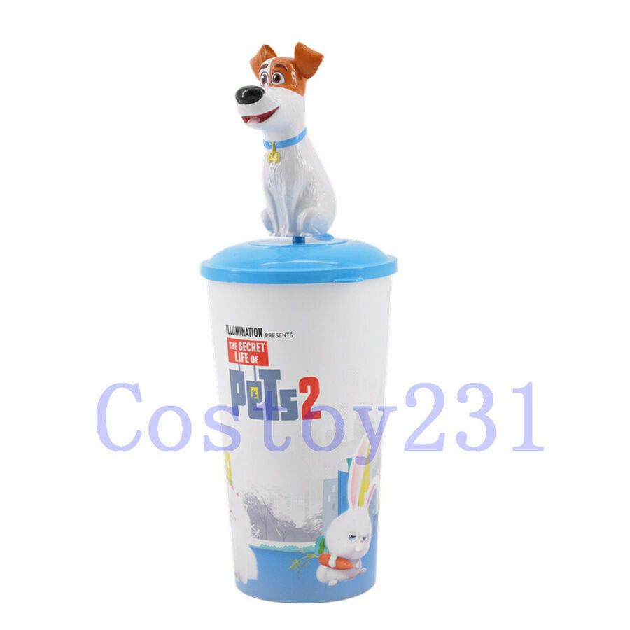The Secret Life Of Pets 2 Topper Cup Movie Exclusive Max Snowball