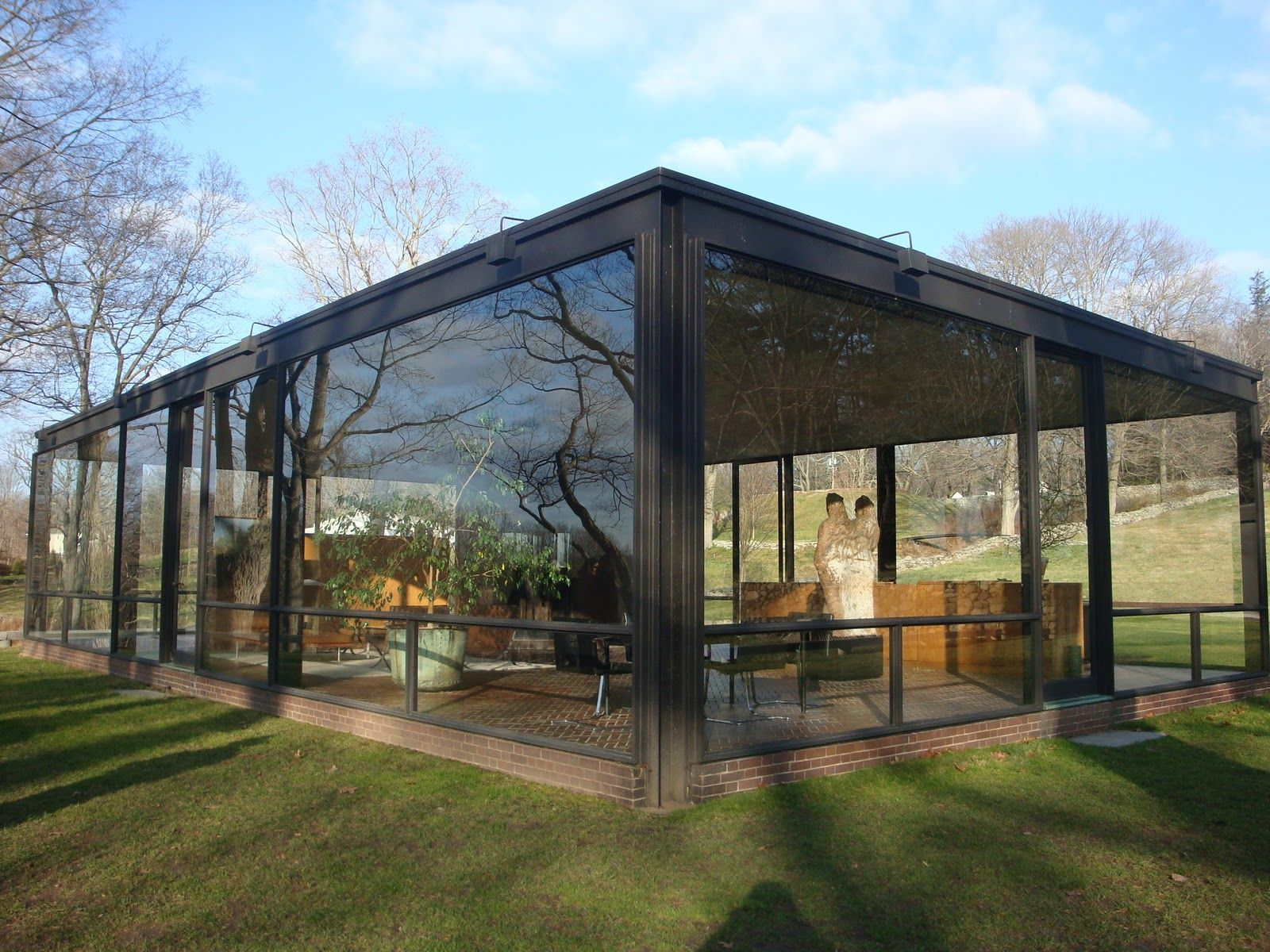 glass house architecture – Modern House - ^