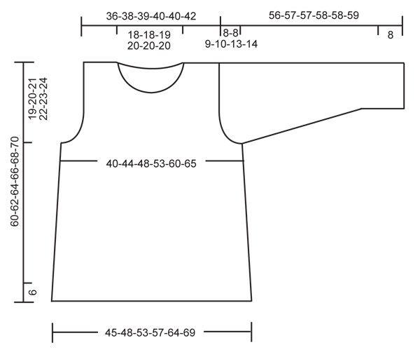 """DROPS 126-31 - Pulóver DROPS tejido en punto jersey en """"Eskimo ..."""