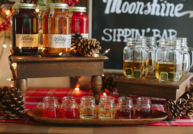 A Moonshine Sippin' Bar