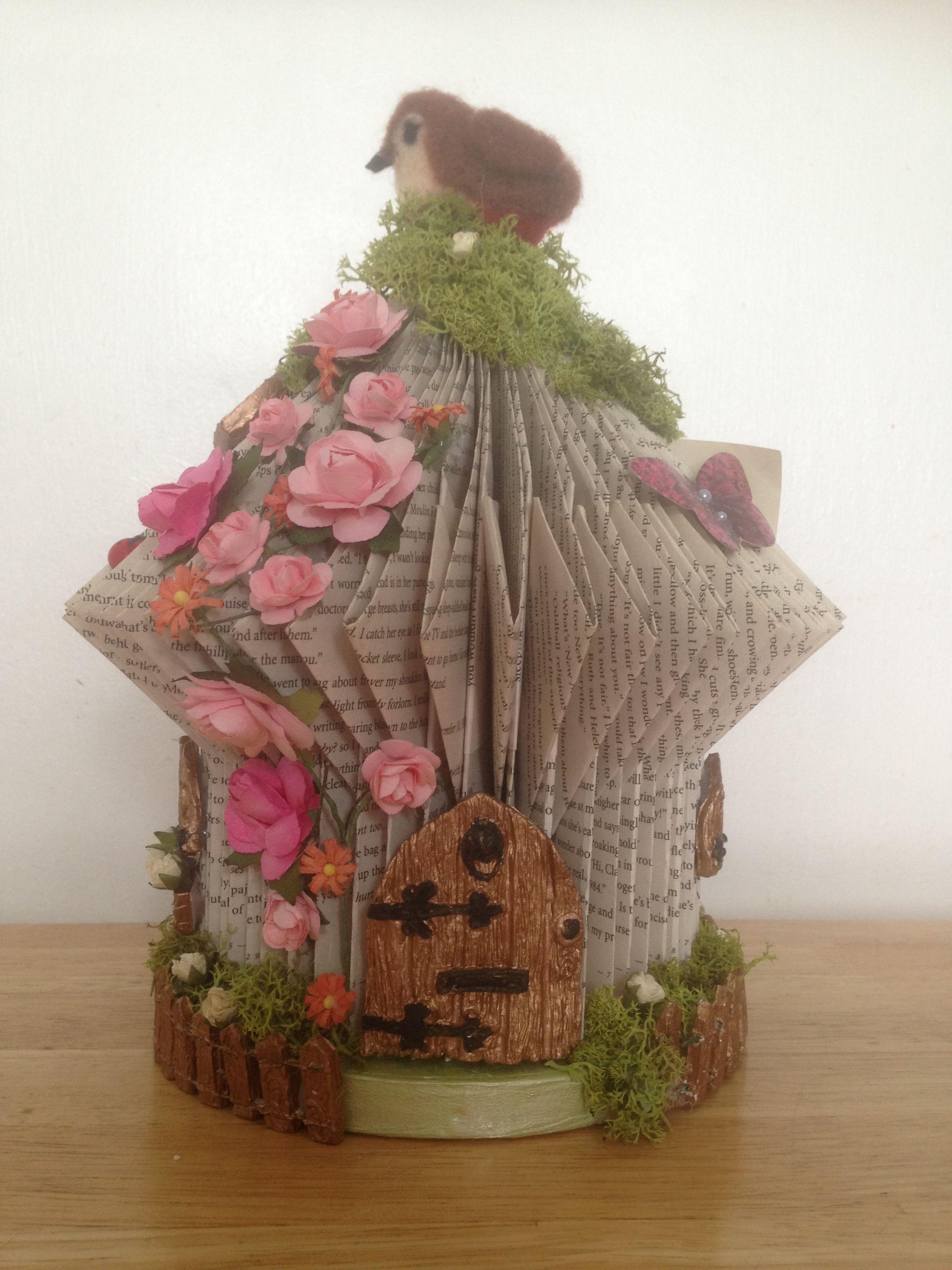 book art fairy house blogs workanyware co uk u2022 rh blogs workanyware co uk Fairy Templates for Cardboard Houses Fairy Houses Books Hard Copy