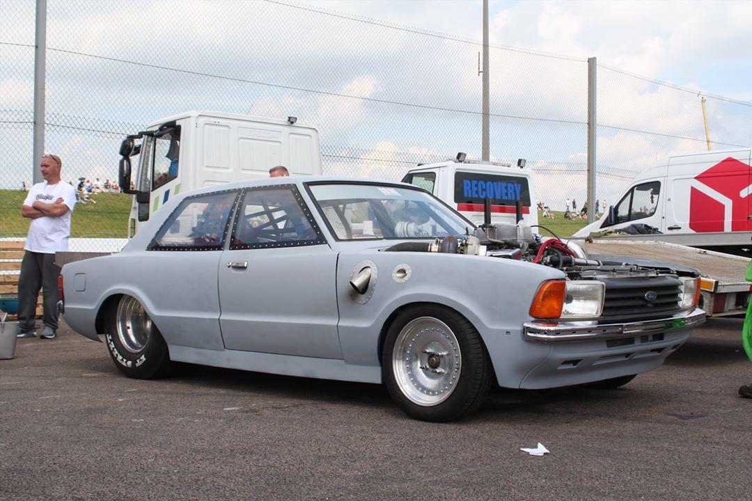 Classicfordshow Ford Cortina Dragcar Twinturbo Classicford