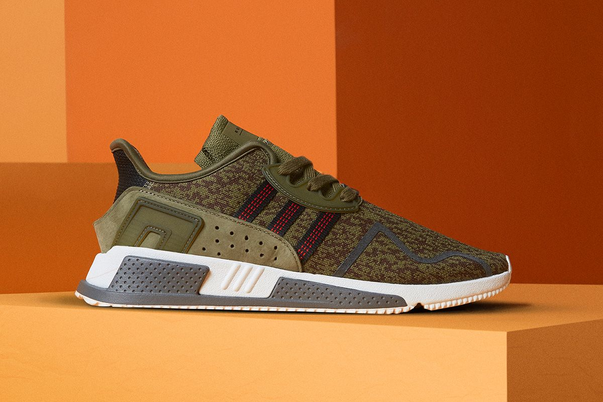 "adidas Originals EQT Cushion ADV in Olive Green for ""Invisible"" Pack - EU  Kicks"