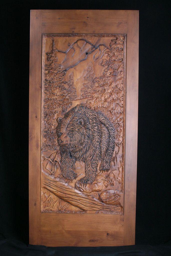 Hand carved doors masterpiece wood sticks