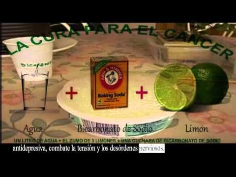 Bicarbonato De Sodio Con Limon Para El Cancer Un Litro De Agua
