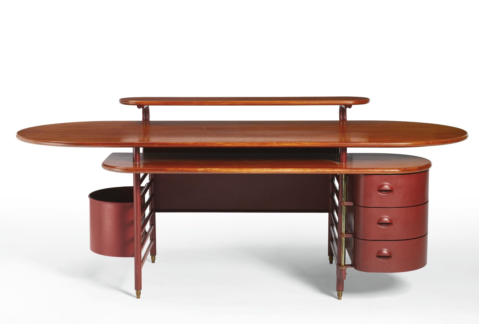 An Important And Rare Desk From The S C Johnson Son Administration Building Racine Wisconsin