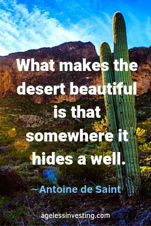 David Lean quote: When you're in the desert, you look into ... |Into The Desert Quotes