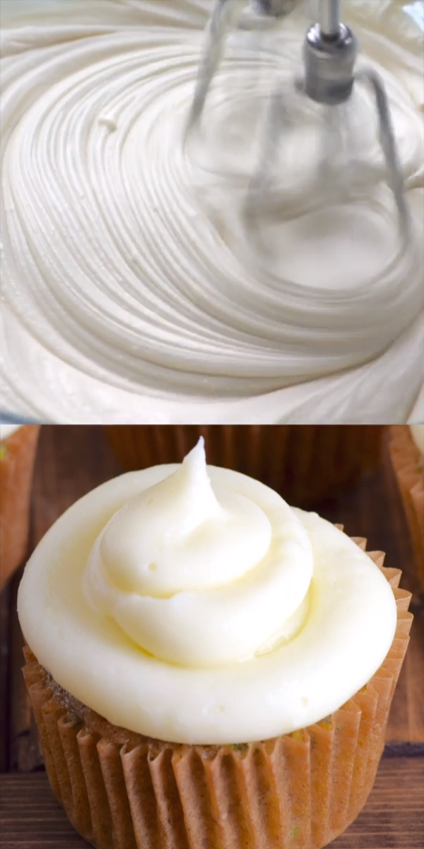 The Best Cream Cheese Frossting #creamfrosting