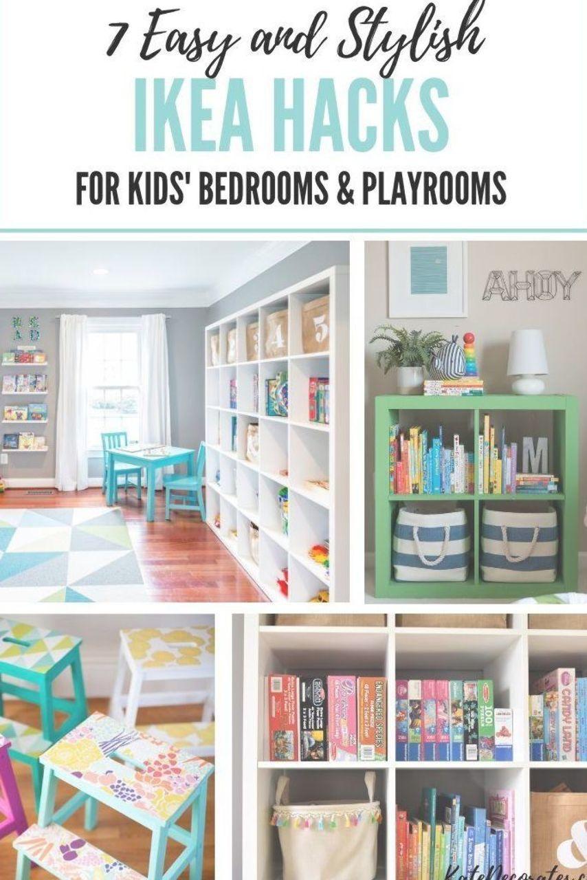 Ikea Hacks For Kids Rooms Ikea Ikeahacks Storage Organizing
