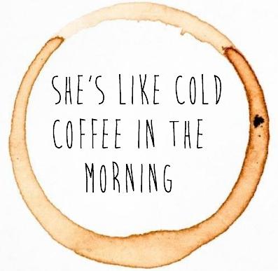 cold coffee tumblr Pesquisa Google Citações