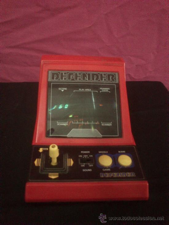 Maquina Portatil O Consola Juego Arcade Defender Made In Taiwan Anos
