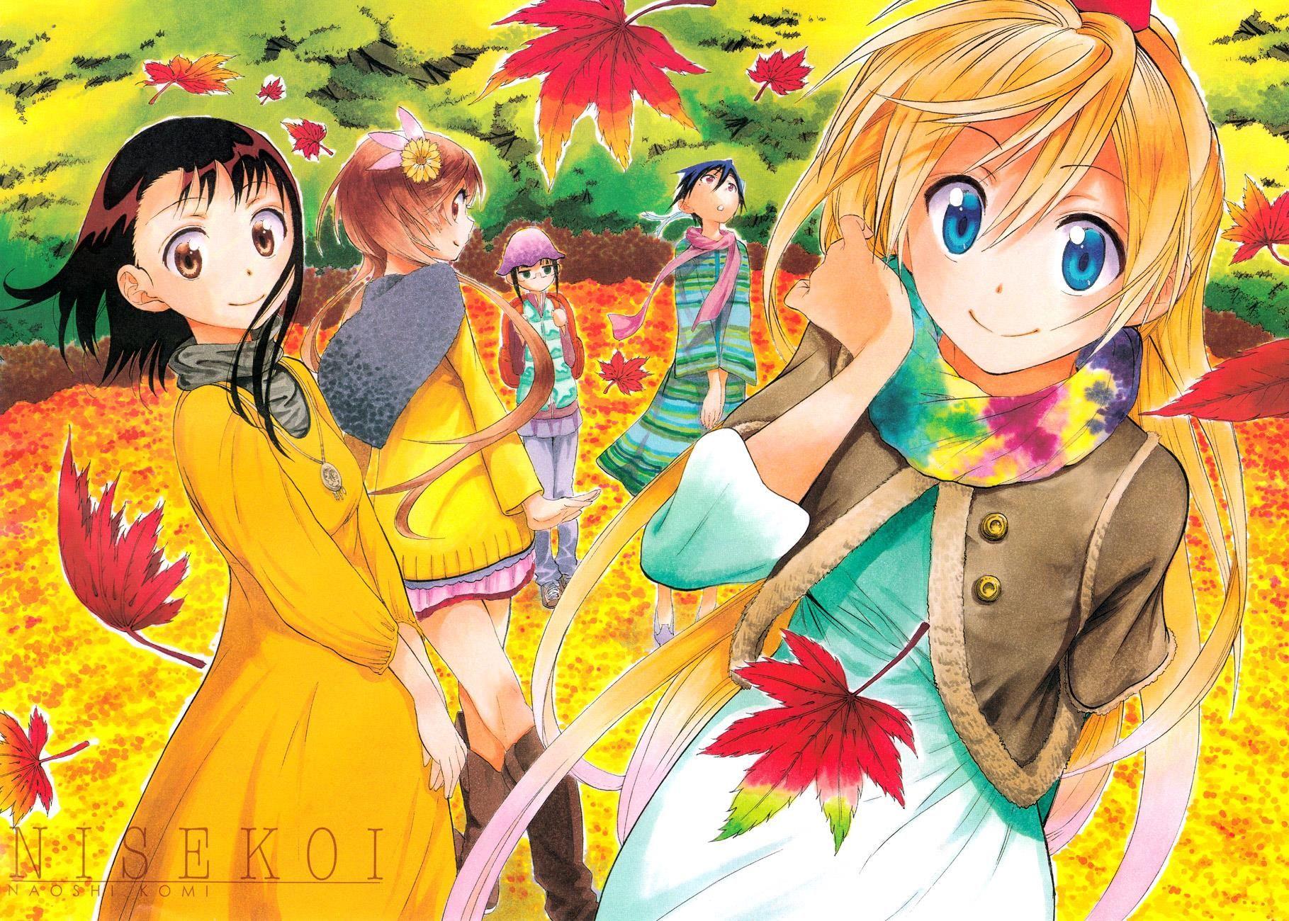 NISEKOI (With images) Nisekoi, Nisekoi manga, Anime