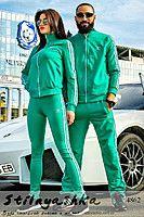44eac62e13f Спортивный костюм мужской и женский Adidas зеленый 4862