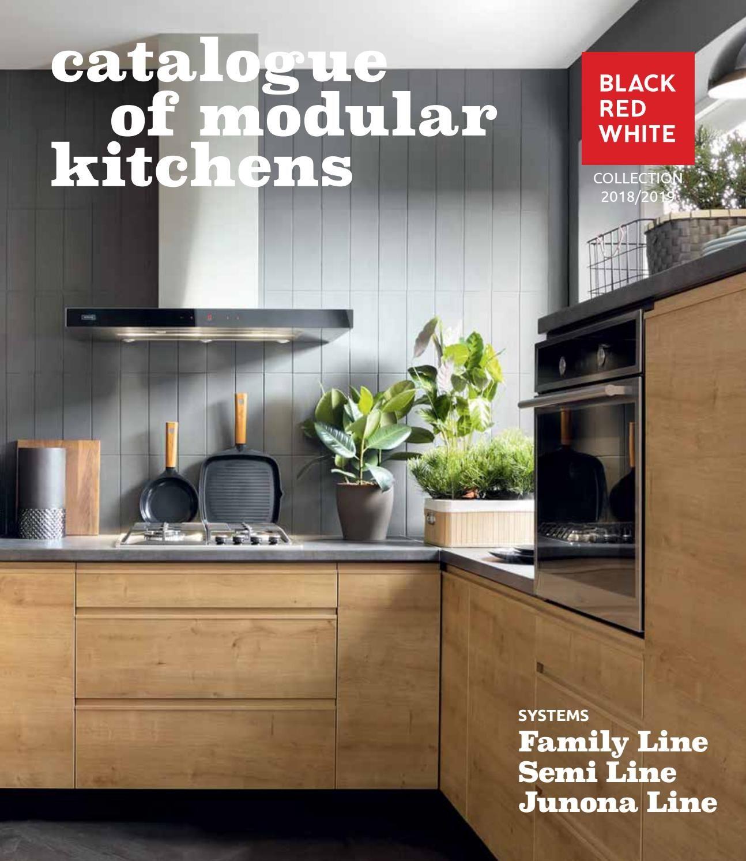 Brw Kuchyne Family Line Semi Line Junona Line Red And White Kitchen Kitchen Kitchen Collection