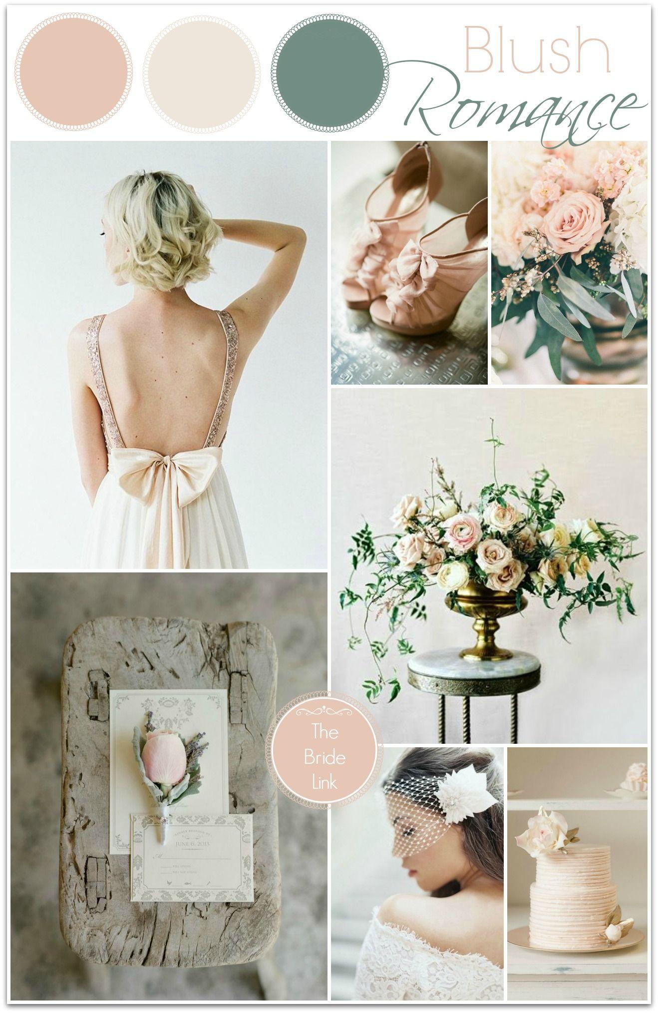 Blush Wedding Ideas | Blush wedding dresses, Neutral color palettes ...