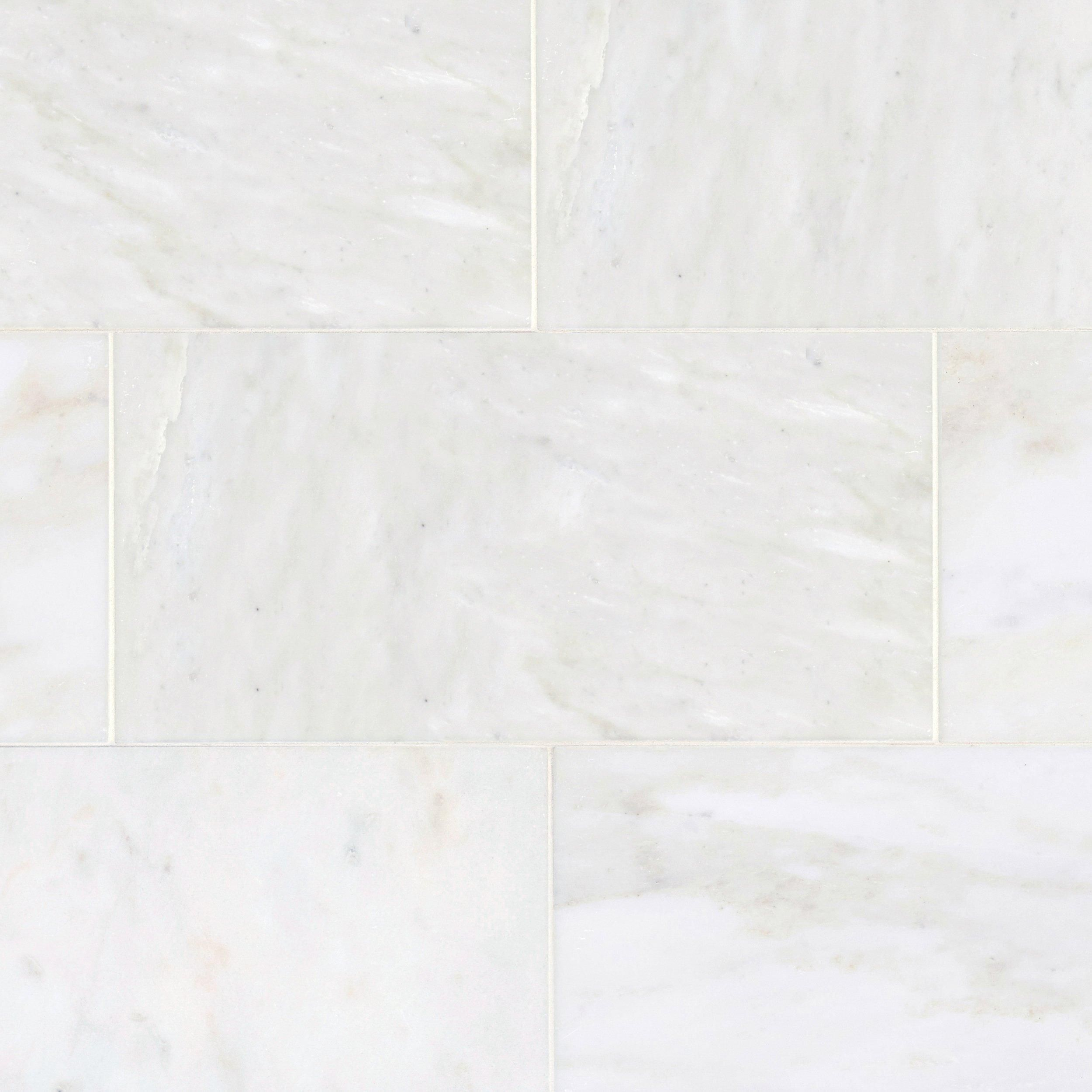 Carrara White Polished Marble Tile Floor Decor White Marble Tiles Polished Marble Tiles Marble Tile