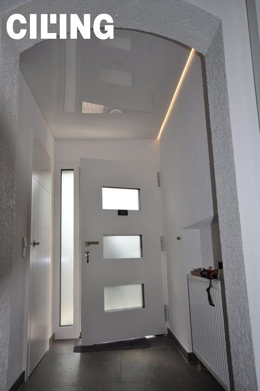 Ein Flur wirkt gleich viel einladender Und so hell spanndecken - sternenhimmel für badezimmer