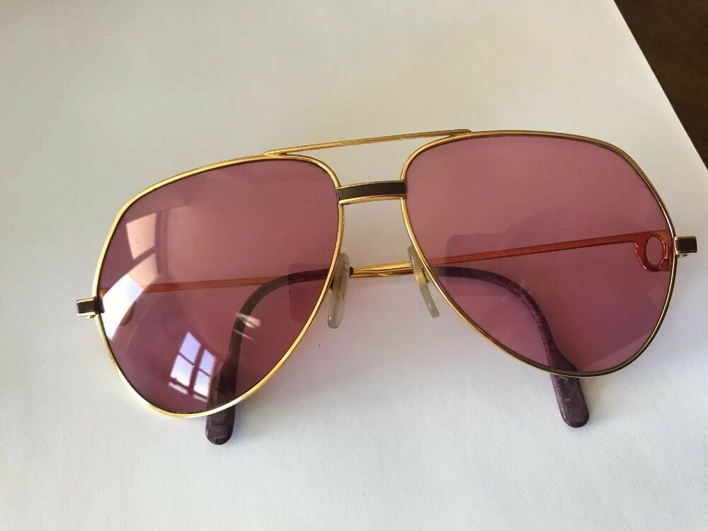 056e5e6bb43 sunglasses cartier vendome louis 18k gold occhiali lunettes brille vintage   fashion  clothing  shoes  accessories  vintage  vintageaccessories (ebay  link)
