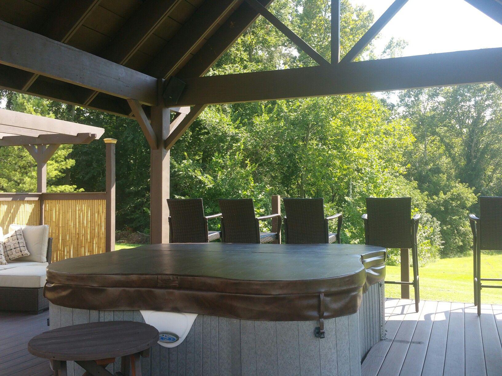 Pavilion Hot tub