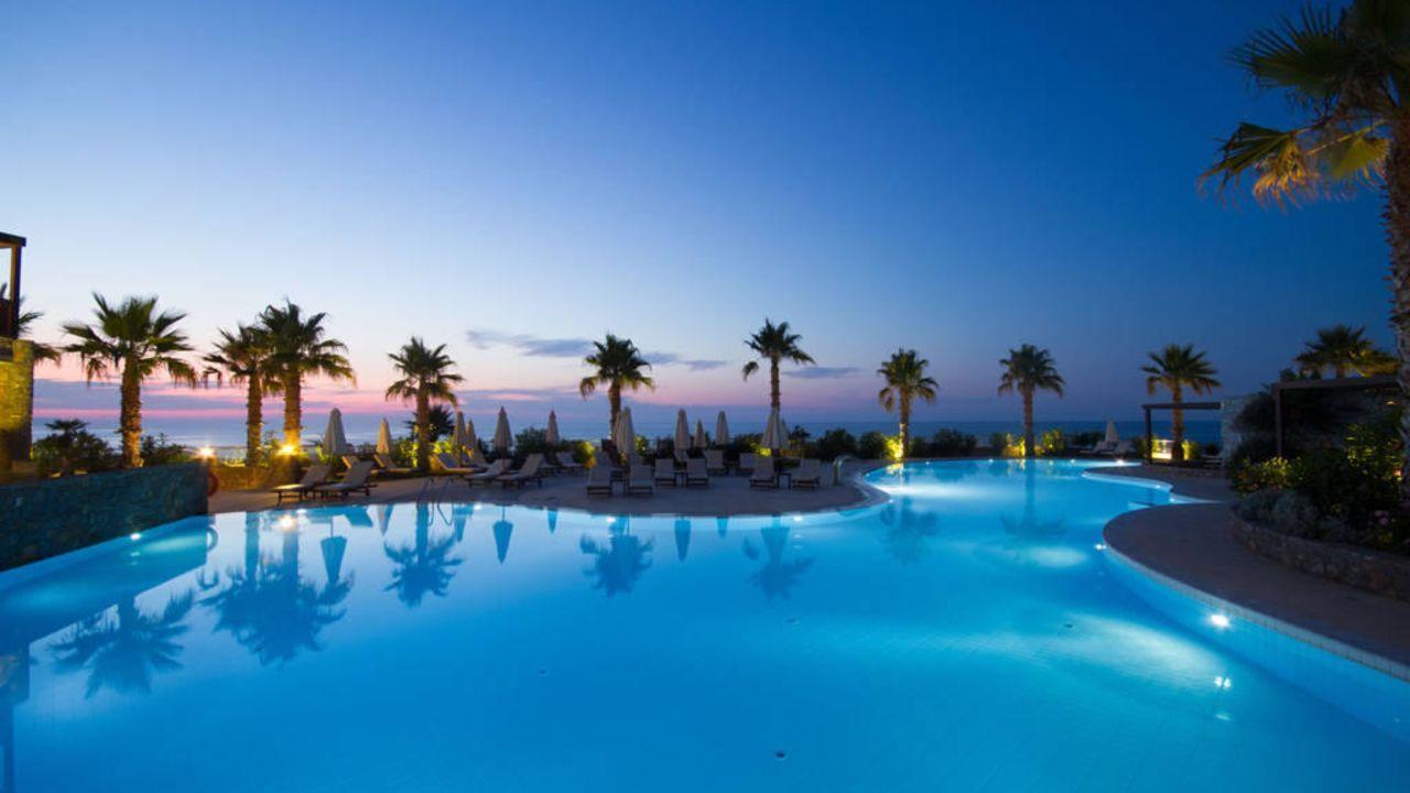 ikaros beach luxury resort spa in malia holidaycheck kreta griechenland griechenland. Black Bedroom Furniture Sets. Home Design Ideas