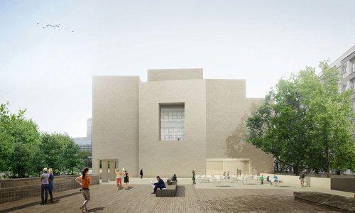 Progettazione di un centro visitatori archeologico con una superficie di 637,50 m2