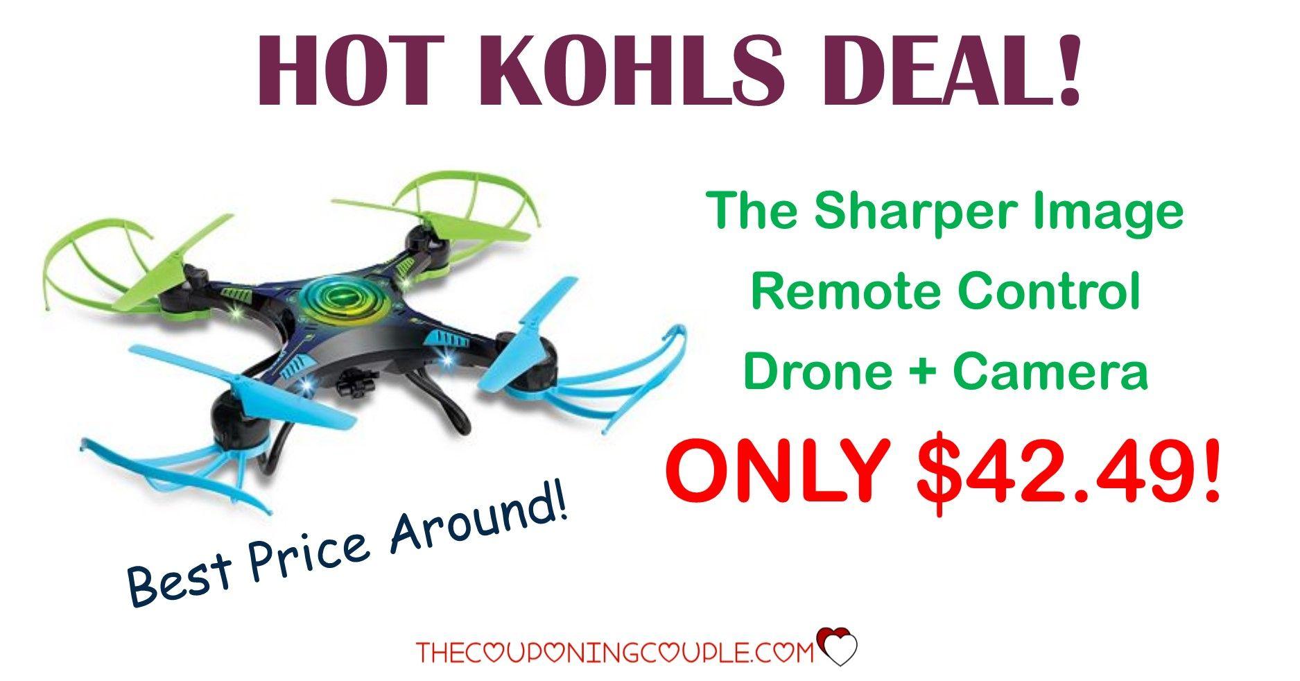 Sharper Image Remote Control Sky Drone Camera 4249 120 Value
