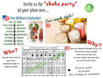 herbalife shake party ideas Herbalife Party Ideas Herbalife