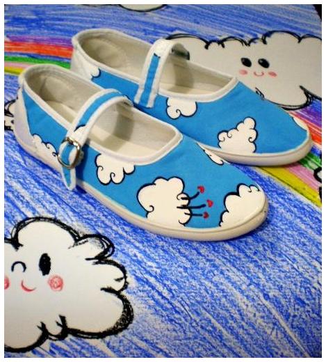 Sapatilha Nuvens - Sugoi