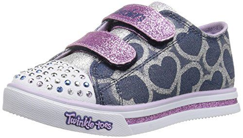 SkechersTwinkle Breeze Pop Tastic - Zapatillas Niñas, Multicolor (Multicolore (Mauve)), 31